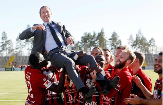 A look at Graham Potter and his exciting Östersunds FK